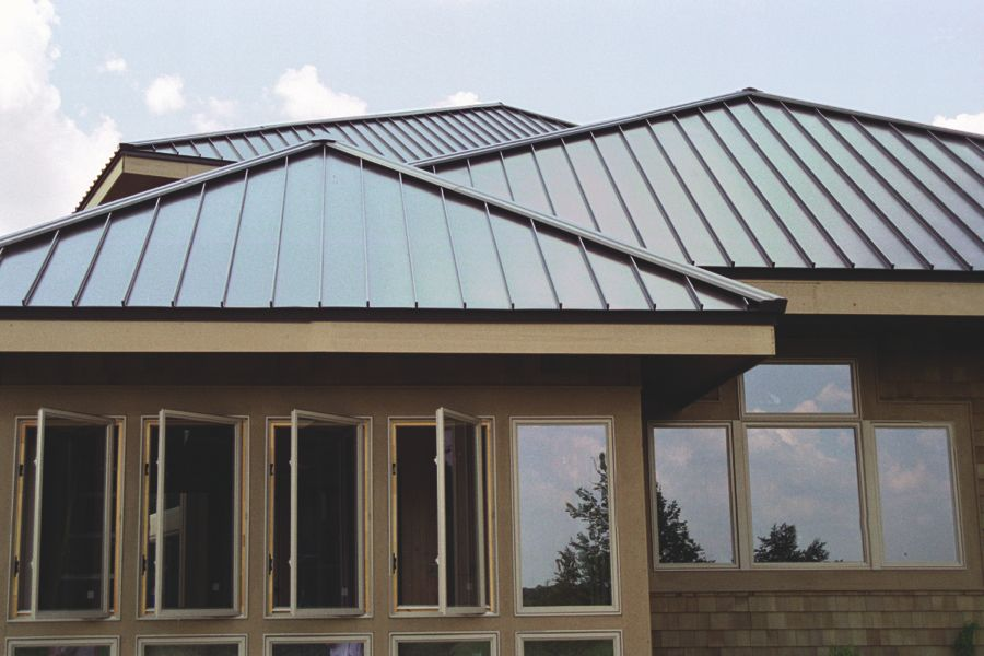 Standing seam chicago metal roofing by nss exteriors for Tin roof styles